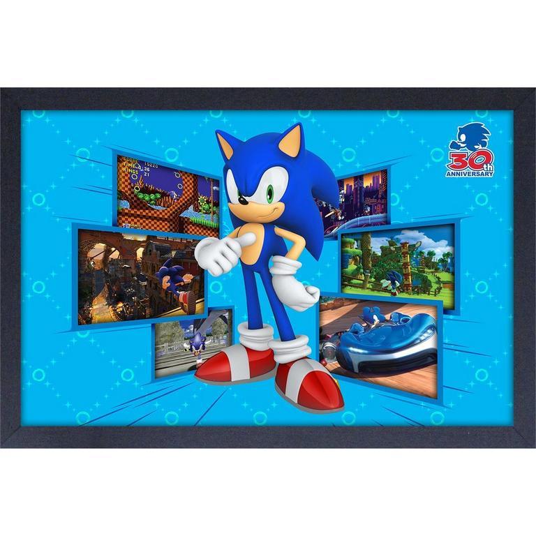 Sonic the Hedgehog 30th Anniversary Screen Shots Mug