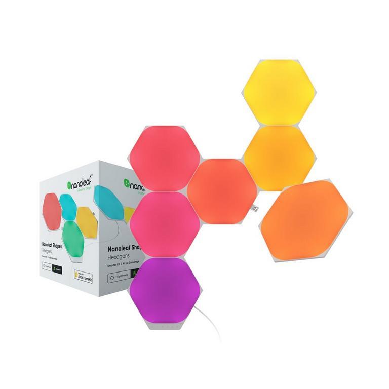 Light Panels Shapes Hexagons Smarter Kit 7 Pack