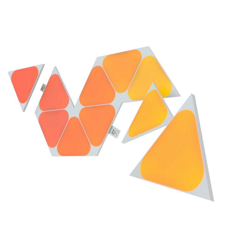 Light Panels Shapes Mini Triangles Expansion Pack 10 Pack