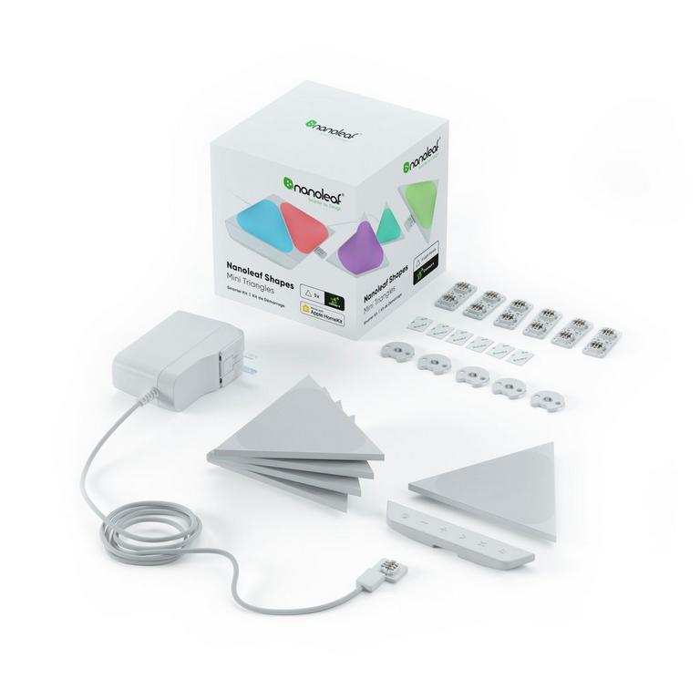 Light Panels Shapes Mini Triangles Smarter Kit 5 Pack
