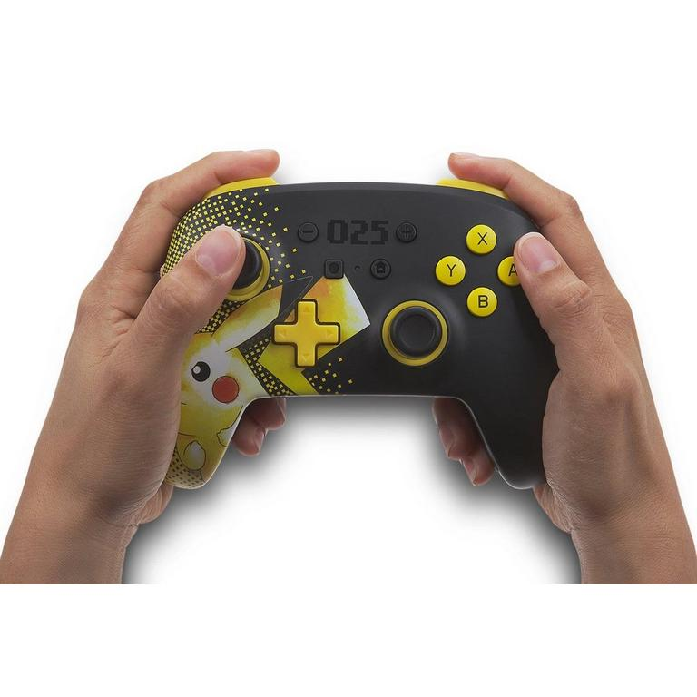 Pokemon Day Pikachu Enhanced Wireless Controller for Nintendo Switch