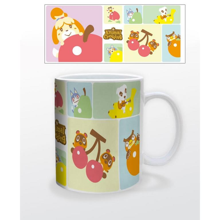 Animal Crossing Character Grid Mug