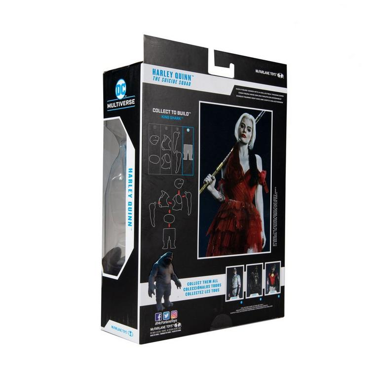 The Suicide Squad Harley Quinn Build-A- Fig DC Multiverse Wave 5 Action Figure