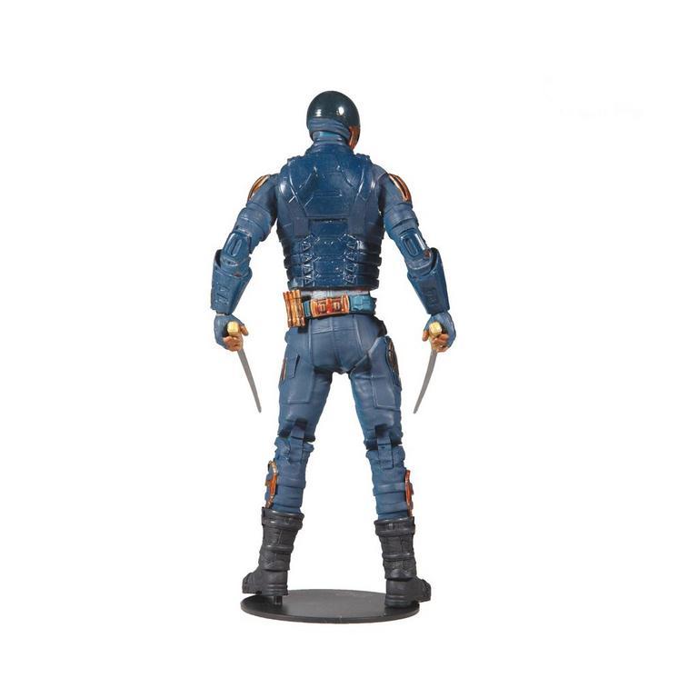 The Suicide Squad Bloodsport Build-A- Fig DC Multiverse Wave 5 Action Figure