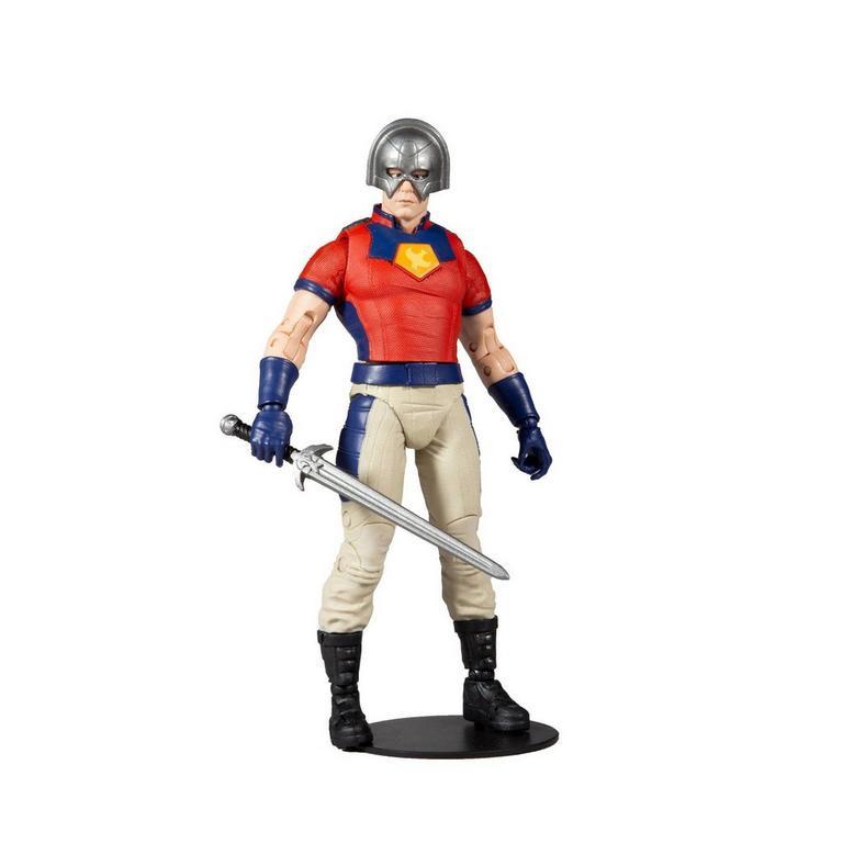 The Suicide Squad Peacemaker Build-A- Fig DC Multiverse Wave 5 Action Figure