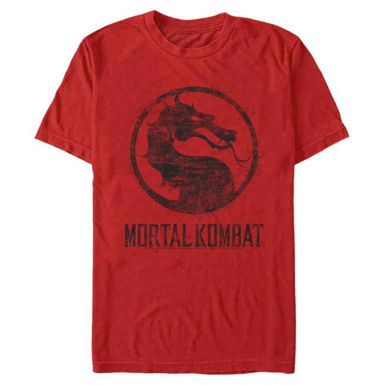 Mortal Kombat Distressed Logo T-Shirt