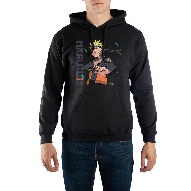 Naruto Shippuden 09 Leaves Hooded Sweatshirt