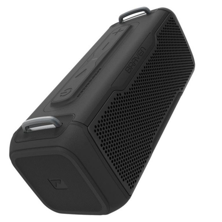 BRV-X/2 Waterproof Bluetooth Black Speaker
