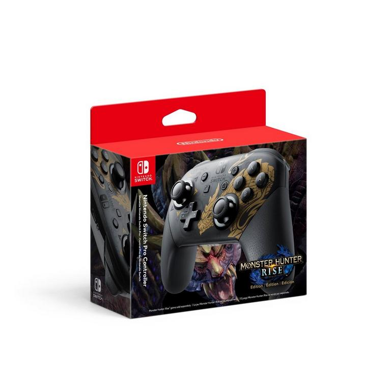 Nintendo Switch Monster Hunter Rise Edition Pro Controller