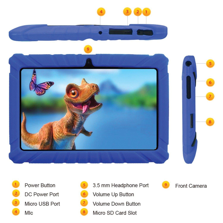 Kids 16 GB Dark Blue Tablet 7 in   Game Stop