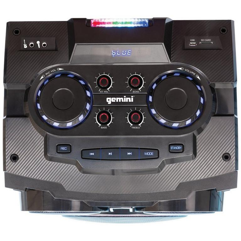 GMAX-6000 Dual Bluetooth Party System 15 in