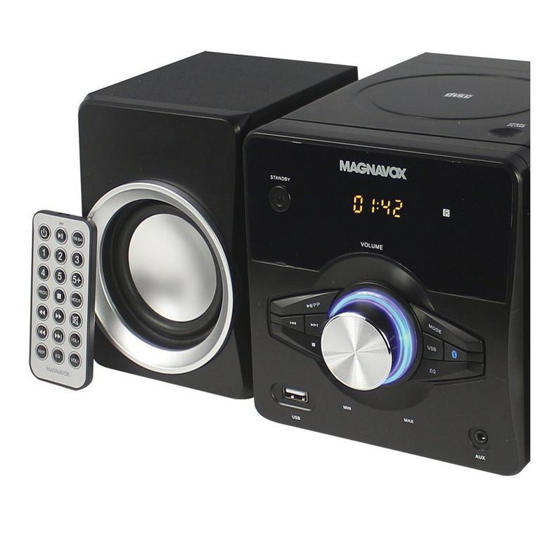 CD Shelf System Digital PLL FM Stereo Radio with Bluetooth 3 Piece