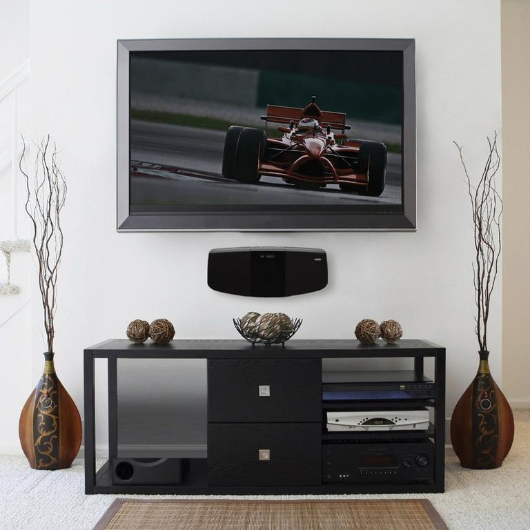 Bluetooth Wall Mountable Music System with CD Player