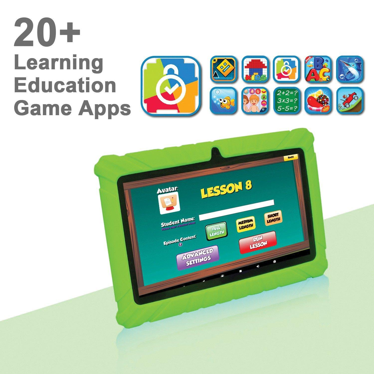 Kids 16 GB Green Tablet 7 in | Game Stop