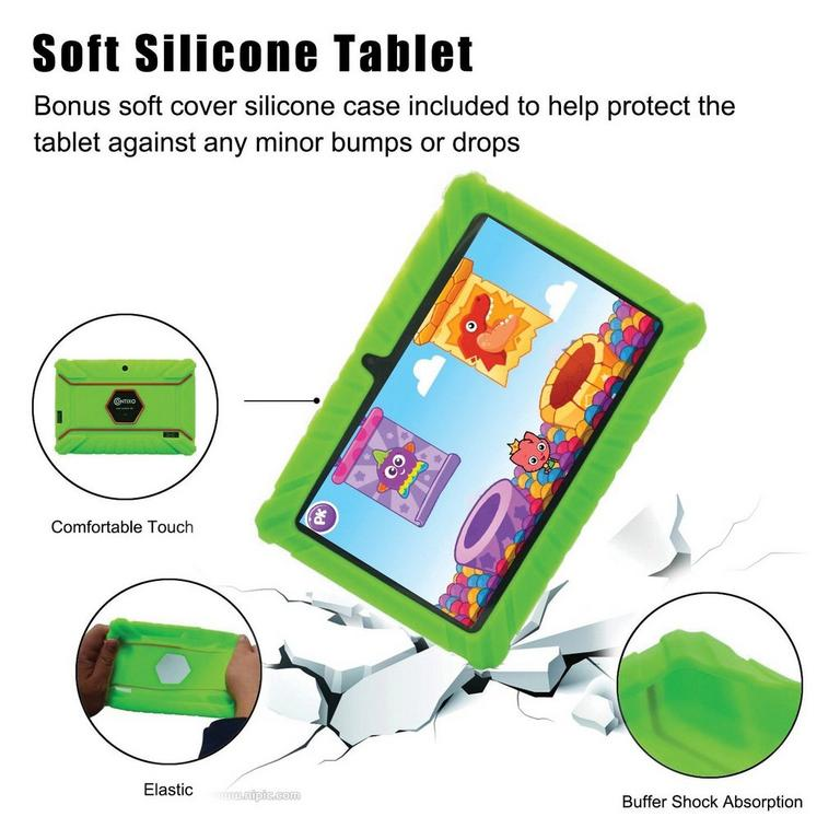 Kids 16 GB Green Tablet 7 in