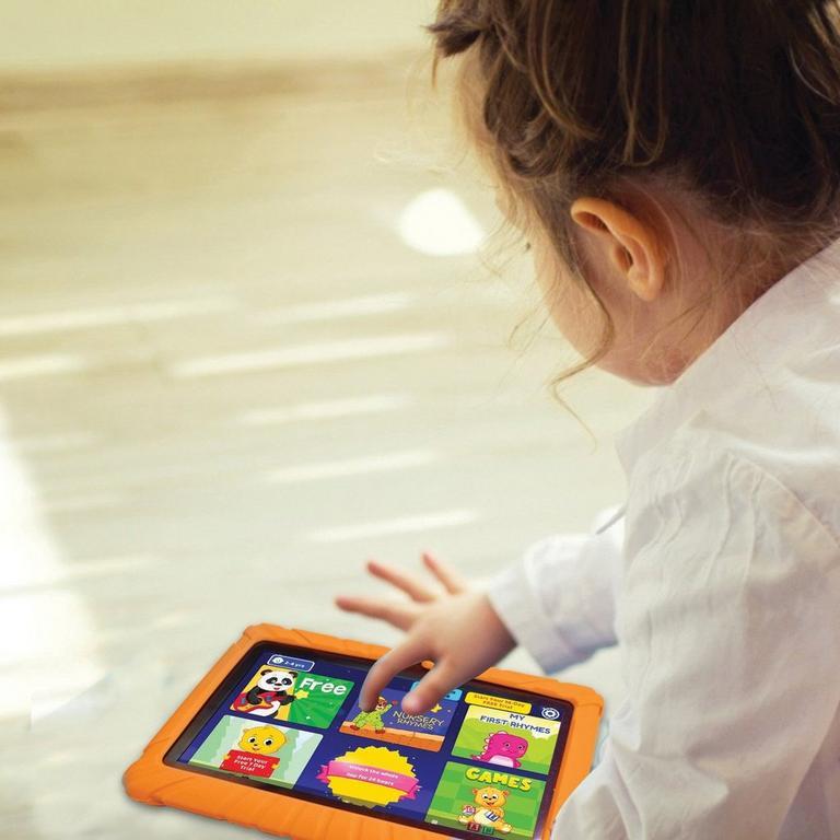 Kids 16 GB Orange Tablet 7 in