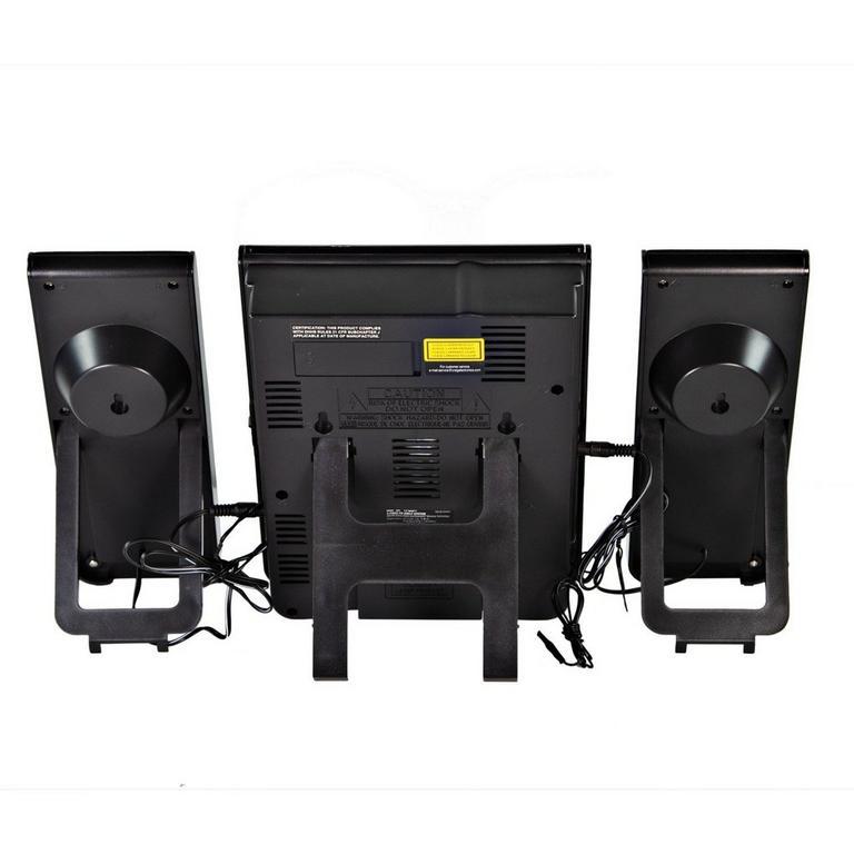Mini CD Shelf Stereo System with AM FM Radio and Bluetooth 3 Piece