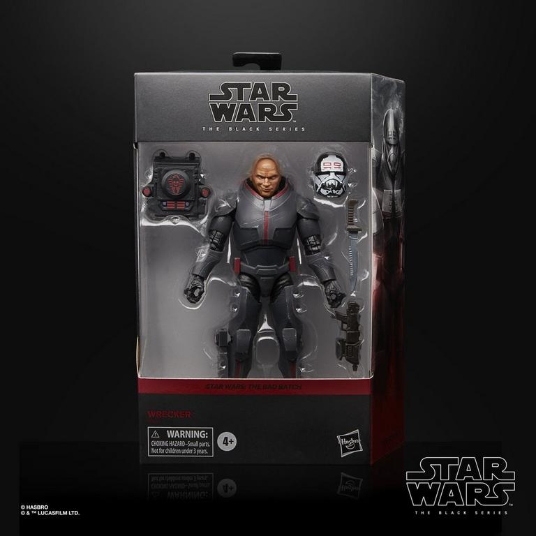 Star Wars: The Bad Batch Wrecker The Black Series Deluxe Action Figure 6 in