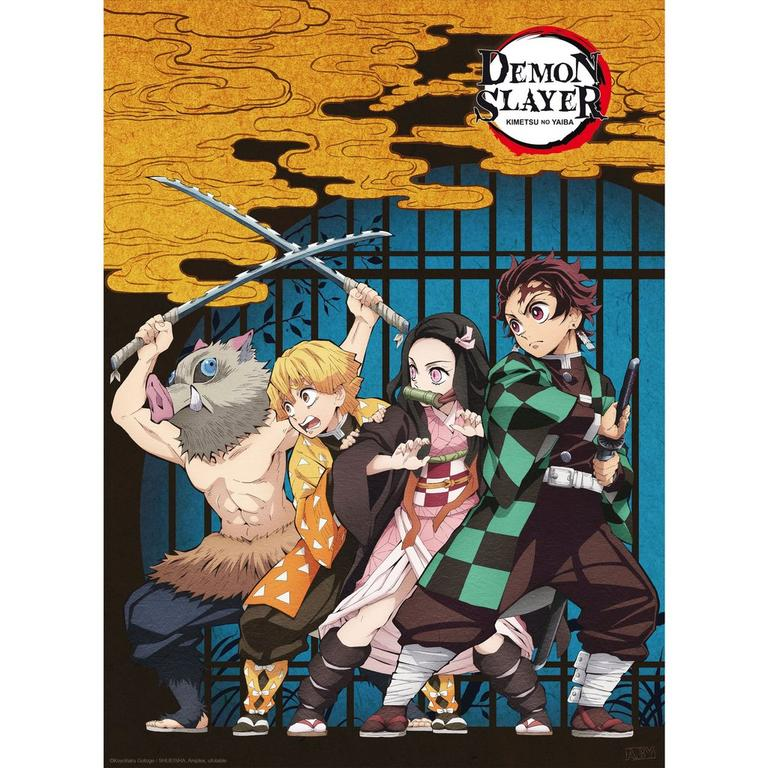 Demon Slayer: Kimetsu no Yaiba Mini Poster Three Pack