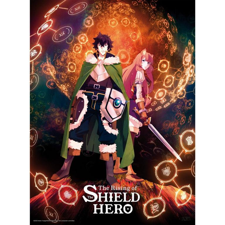The Rising of the Shield Hero Poster Two Pack