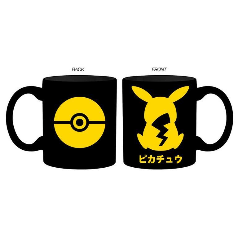 Pokemon Pikachu Silhouette Mug
