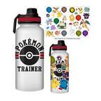 Pokemon - Pokemon Trainer Water Bottle with Stickers