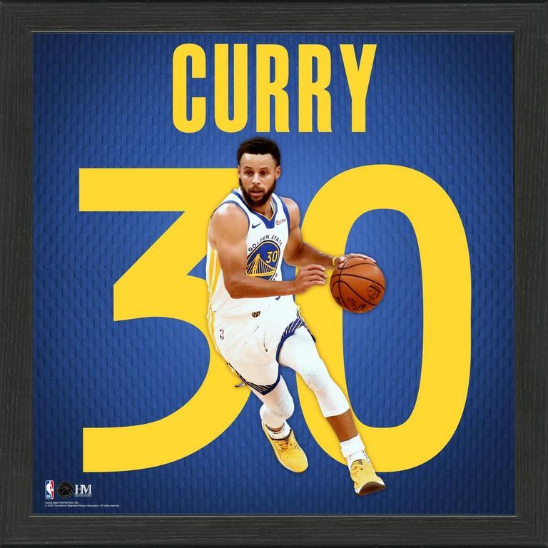 NBA Golden State Warriors Stephen Curry Impact Jersey ...