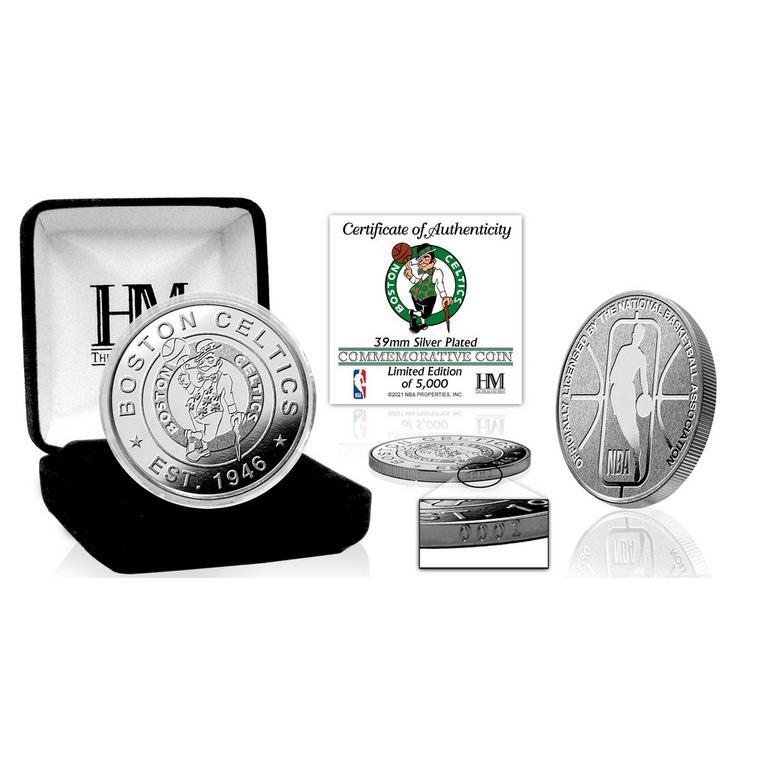NBA Boston Celtics Silver Coin Mint
