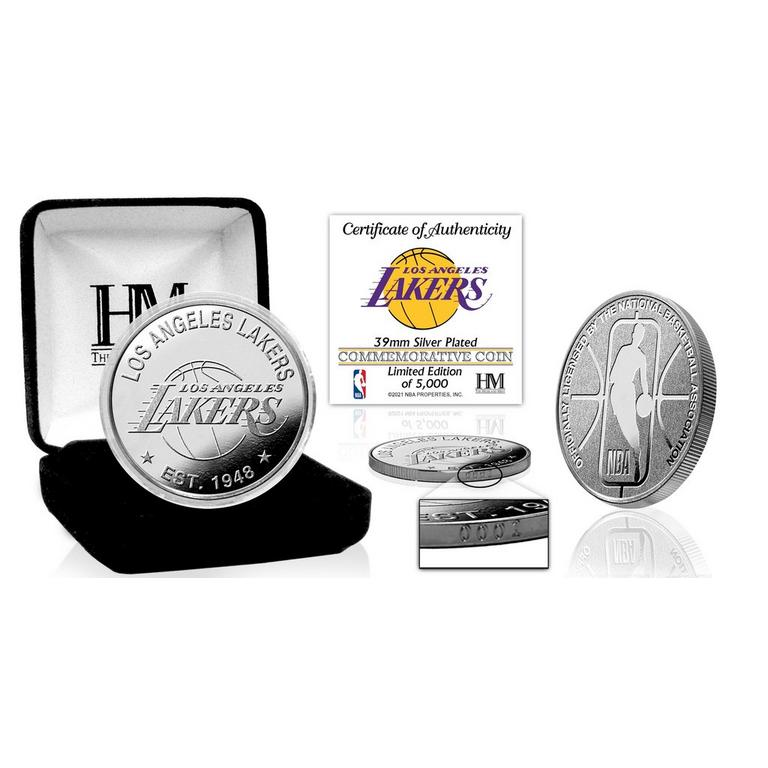 NBA Los Angeles Lakers Silver Coin Mint