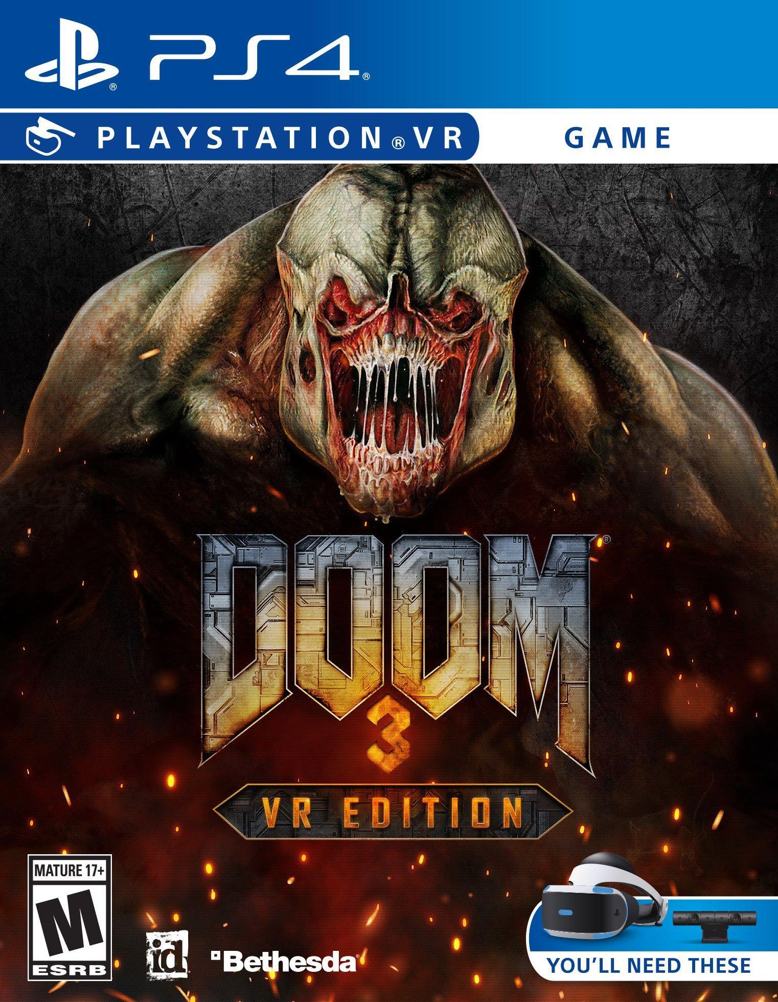 Doom 3: VR Edition PS4