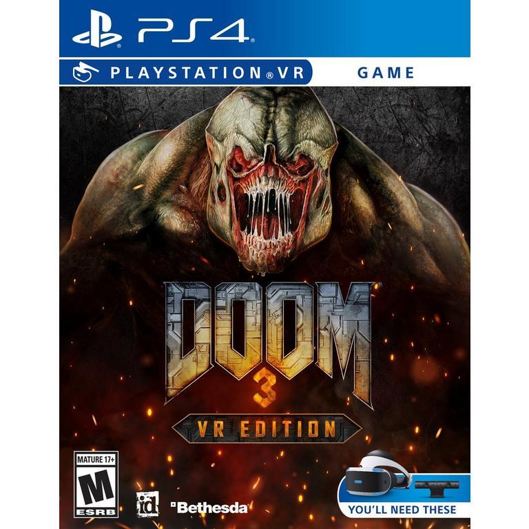 DOOM 3 VR Only at GameStop - PlayStation 4