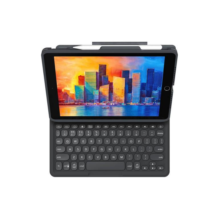 Pro Keys Bluetooth Keyboard Case for iPad 10.2 in