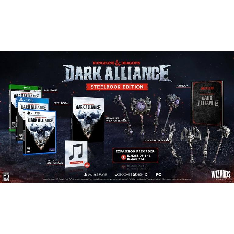 Dungeons and Dragons Dark Alliance Steelbook Edition Only at GameStop