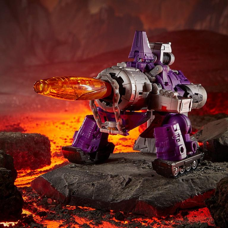 Transformers Generations War for Cybertron: Kingdom Galvatron Leader Action Figure
