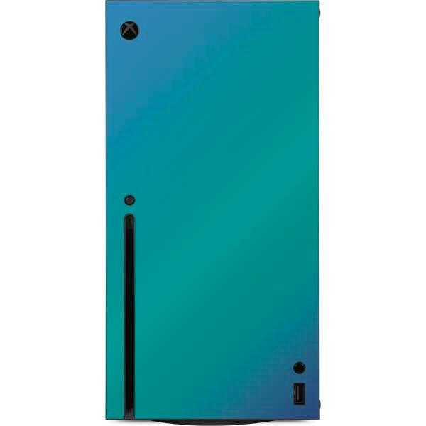 Aqua Blue Chameleon Console Skin for Xbox Series X   Game Stop