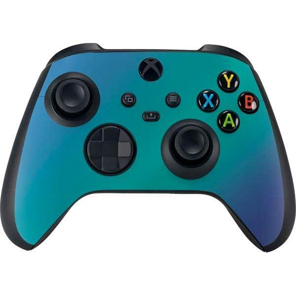 Aqua Blue Chameleon Skin Bundle for Xbox Series X | Game Stop