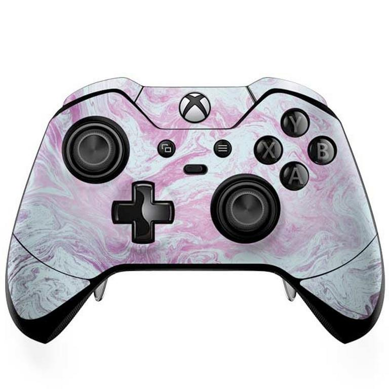 Blue and Purple Marble Controller Skin for Xbox One Elite