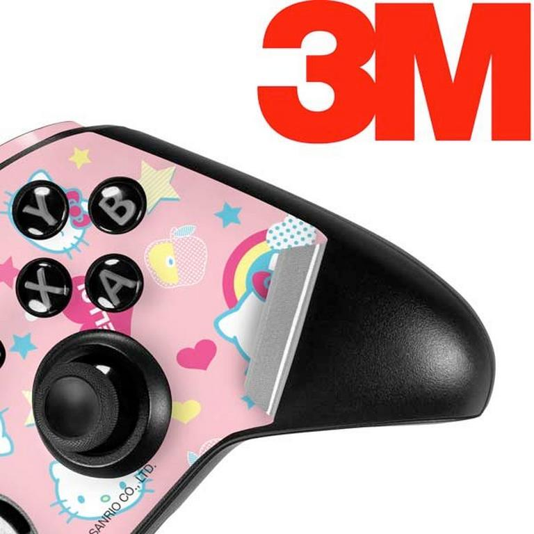 Hello Kitty Hearts and Rainbows Controller Skin for Xbox One Elite