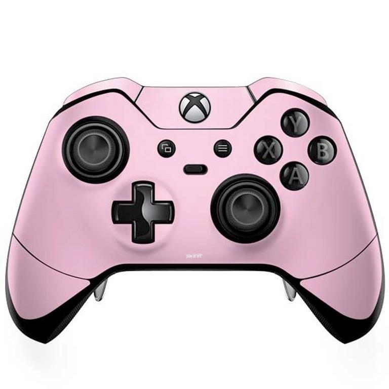 Pink and White Checkerboard Controller Skin for Xbox One Elite