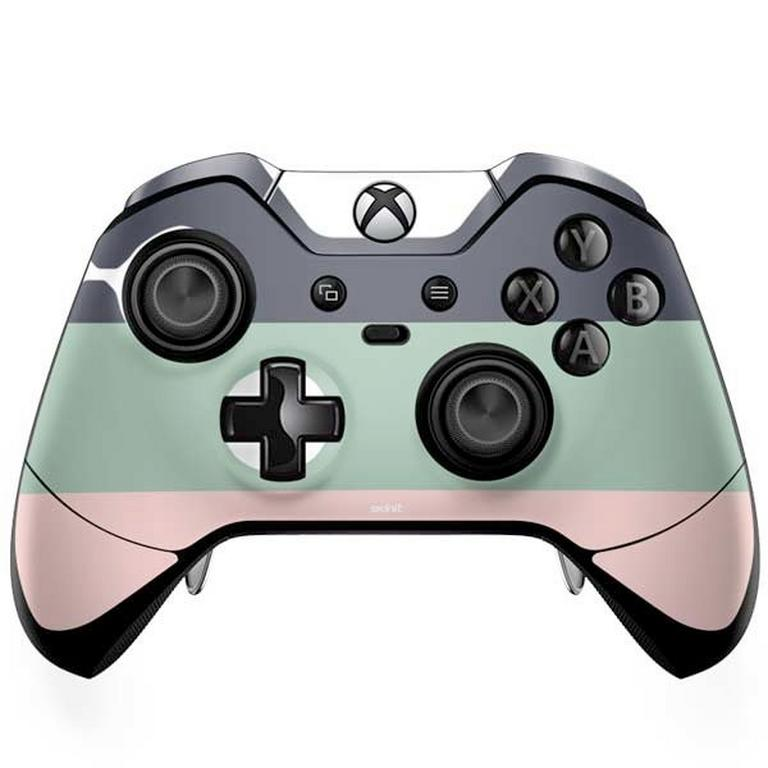 Striped Spring Colors Controller Skin for Xbox One Elite