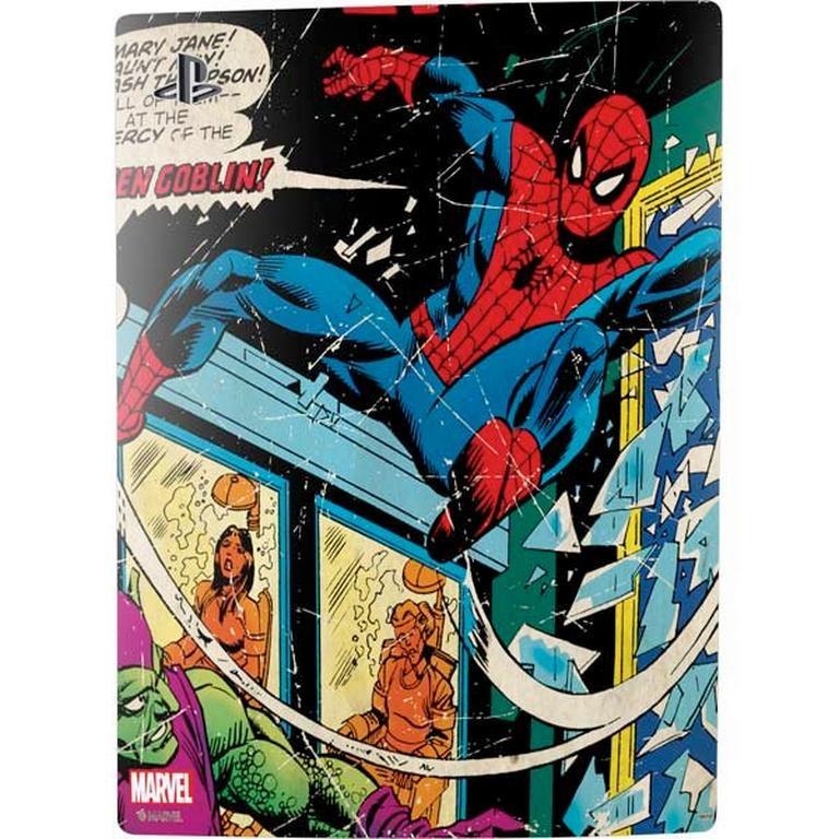 Marvel Comics Spider-Man Skin Bundle for PlayStation 5