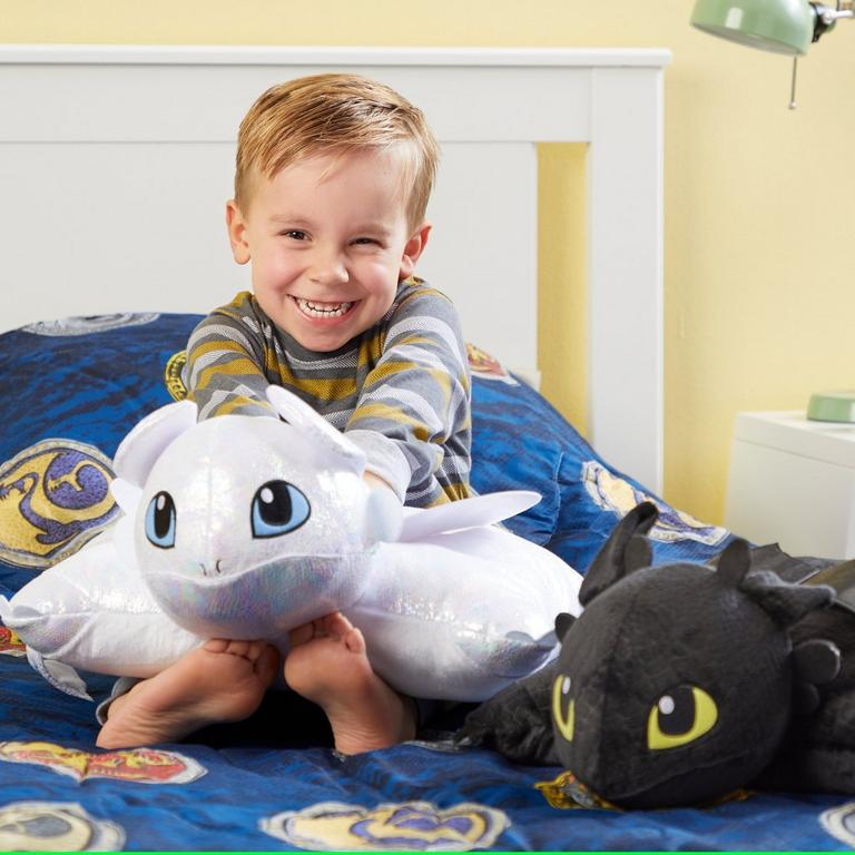 How to Train Your Dragon Light Fury Pillow Pet