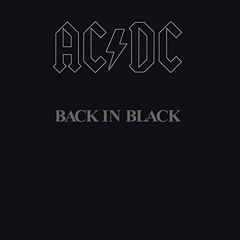 Back in Black by ACDC Vinyl