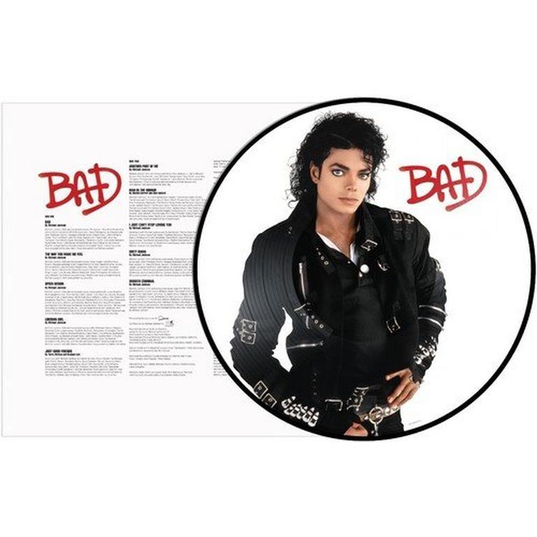 Bad by Michael Jackson Picture Disc Vinyl