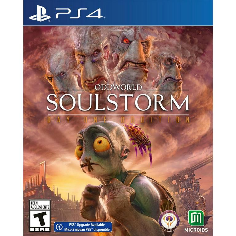 Preorder Oddworld: Soulstorm Day One Oddition PS4 Games Maximum Games GameStop