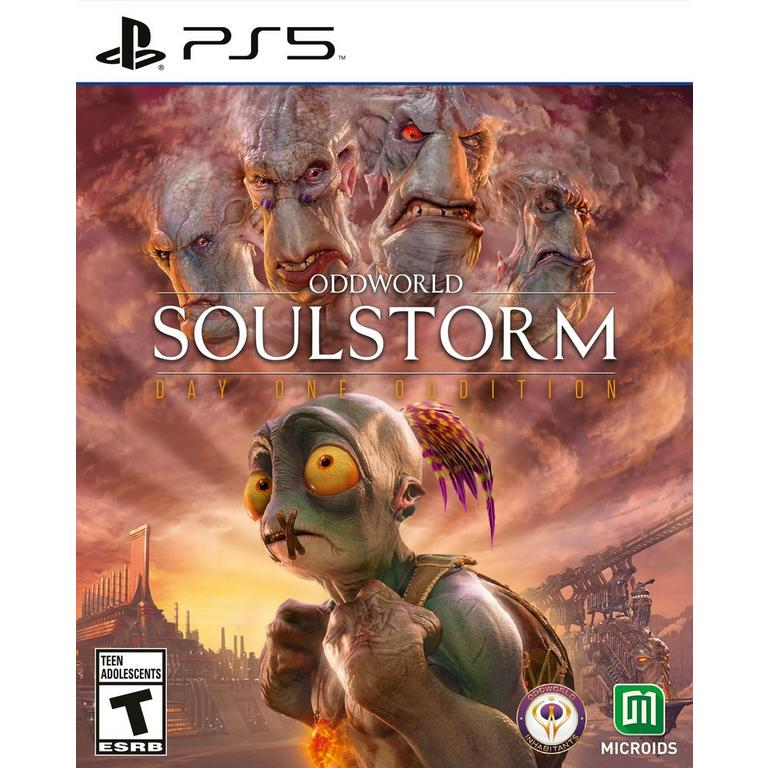 Preorder Oddworld: Soulstorm Day One Oddition PS5 Games Maximum Games GameStop