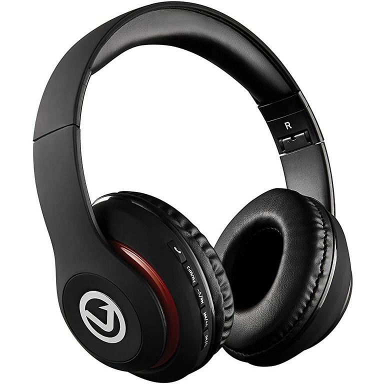 Impulse Series Bluetooth Black Headphones