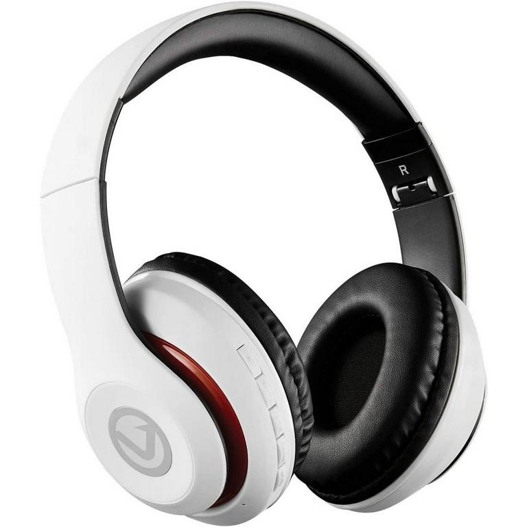 Impulse Series Bluetooth White Headphones
