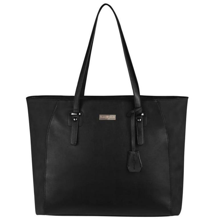 Sonja Ladies Black Laptop Handbag