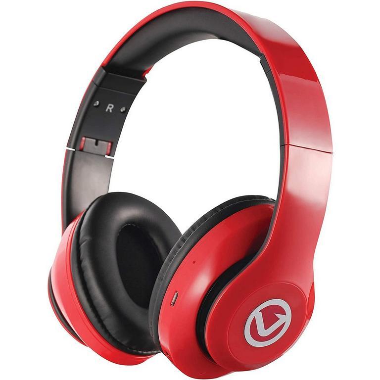 Impulse Series Bluetooth Red Headphones